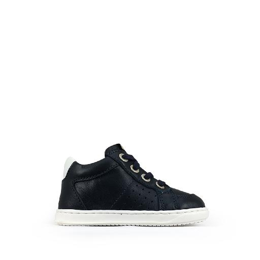 Kids shoe online Ocra first walker Dark blue first step sneaker