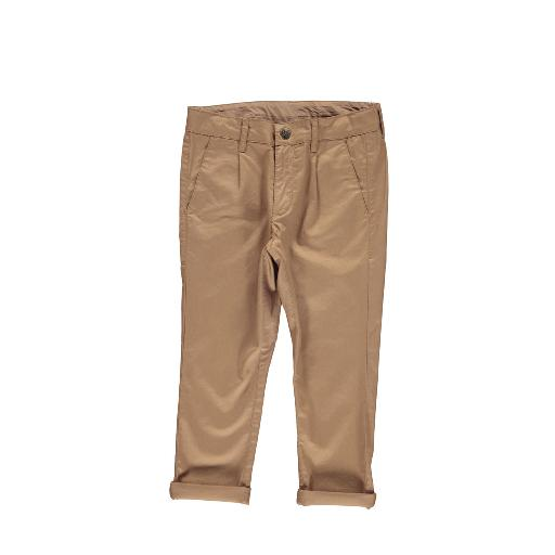 Kids shoe online MarMar Copenhagen trousers Caramel brown chino