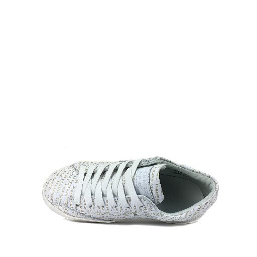 Philippe Model trainer Low white sneaker with monograms
