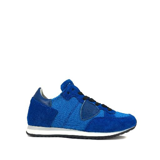 Kids shoe online Philippe Model trainer Blue runner