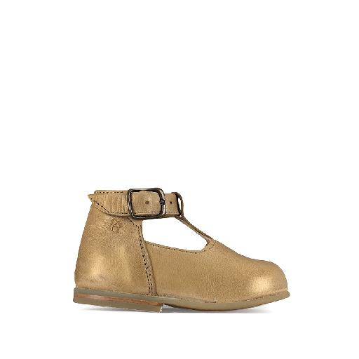 Kids shoe online Nathalie Verlinden first walkers Ballerina in golden