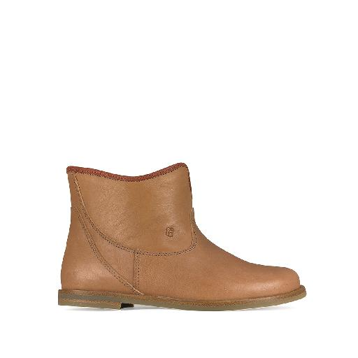 Kids shoe online Nathalie Verlinden short boots Brown original ankle boot