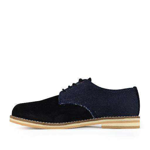 Eli lace-up shoe Derby in blue tones