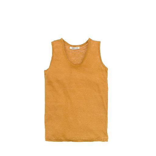Kids shoe online The new society tops Linen tank top caramel