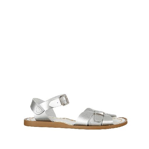Kinderschoen online Salt water sandal sandaal Salt-Water Classic in zilver