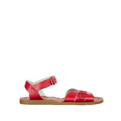 Kinderschoen online Salt water sandal sandaal Salt-Water Classic in rood