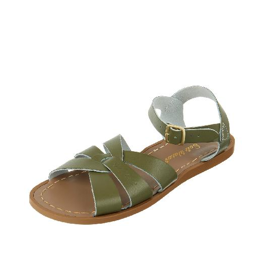 Salt water sandal sandalen Salt-Water Original in olijfgroen