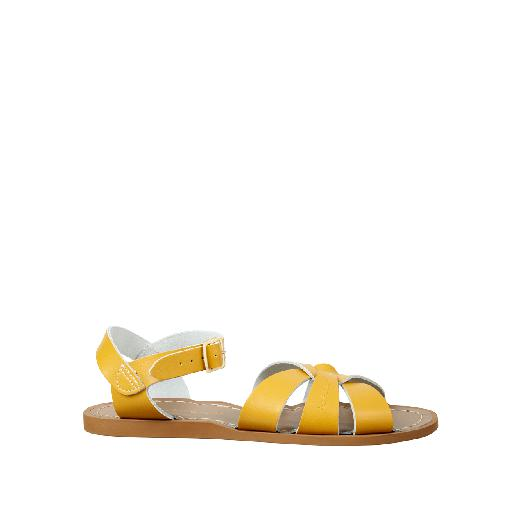 Kinderschoen online Salt water sandal sandaal Salt-Water Original in mosterd