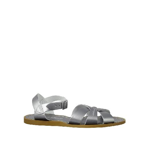 Kinderschoen online Salt water sandal sandaal Salt-Water Original in pewter zilver