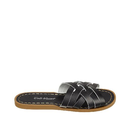 Kinderschoen online Salt water sandal sandaal Salt-Water Retro Slide in zwart