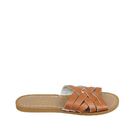 Kinderschoen online Salt water sandal sandaal Salt-Water Retro Slide in bruin