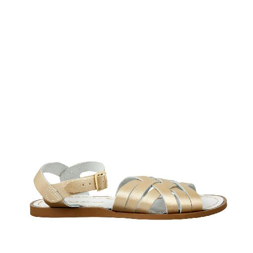Kinderschoen online Salt water sandal sandaal Salt-Water Retro in goud