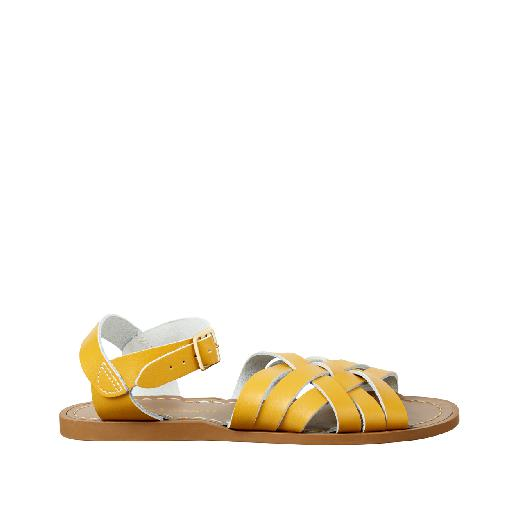 Kinderschoen online Salt water sandal sandaal Salt-Water Retro in mosterd
