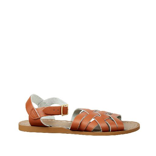 Kinderschoen online Salt water sandal sandaal Salt-Water Retro in bruin