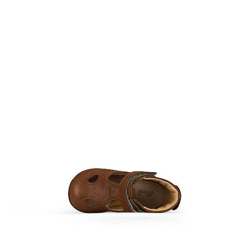 Ocra first walker Brown summer shoe