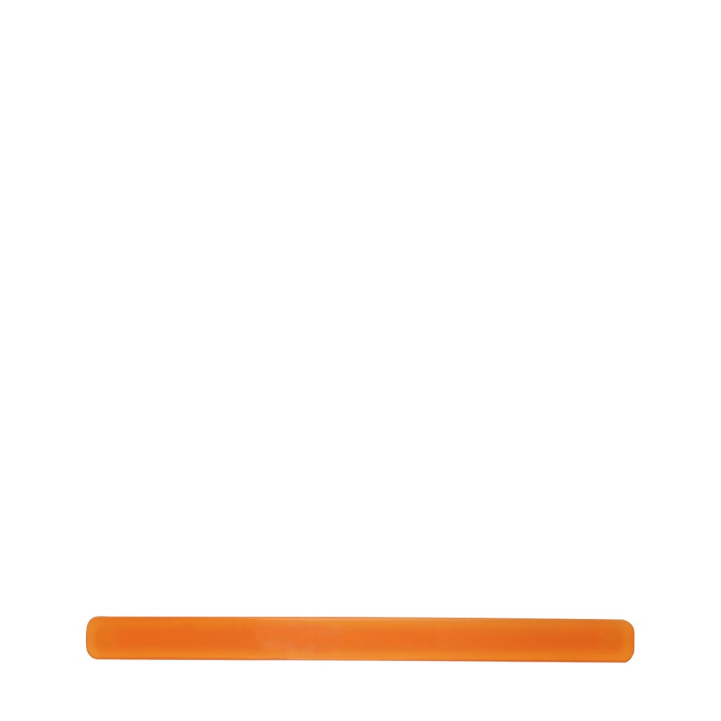 Anna Pops - Large narrow hairpin in orange