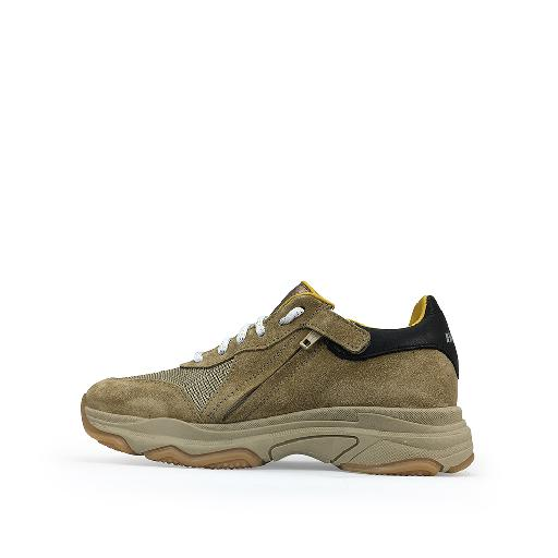HIP trainer Sand colored dad sneakers