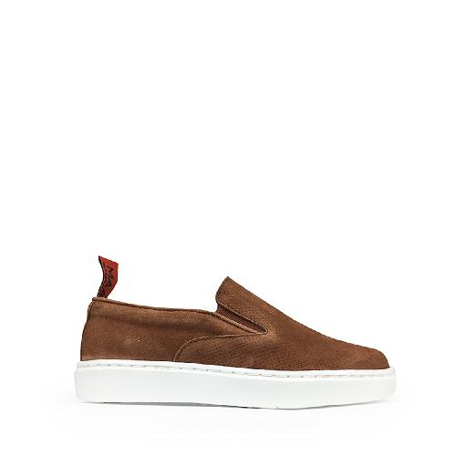 Kids shoe online MAA loafer Brown sporty loafer