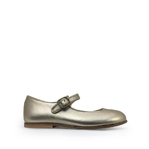 Kids shoe online JFF mary jane Mary jane in laminate gold