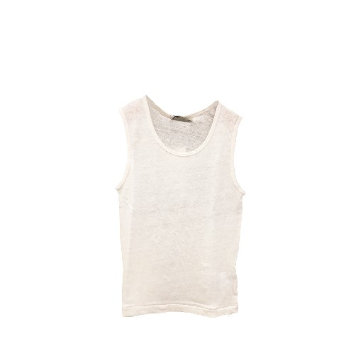 Kids shoe online The new society tops Linen tank top off white
