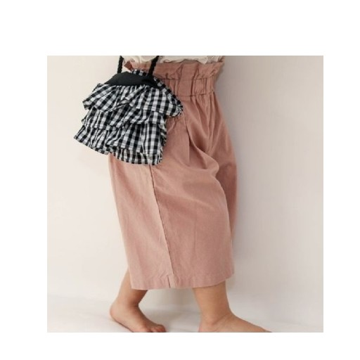 Kids shoe online Anna Pops trousers Pink wide short pants