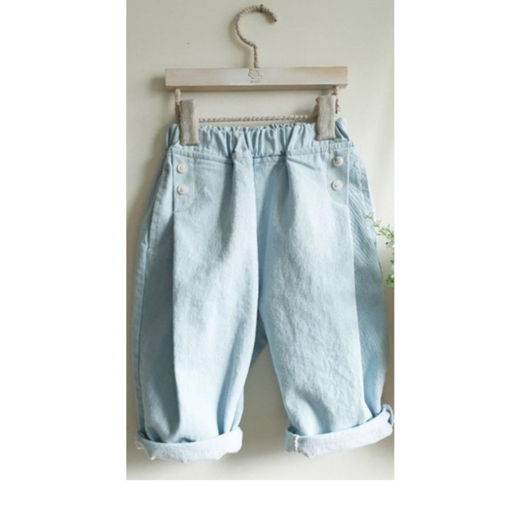 Anna Pops - Midi baggy jeans