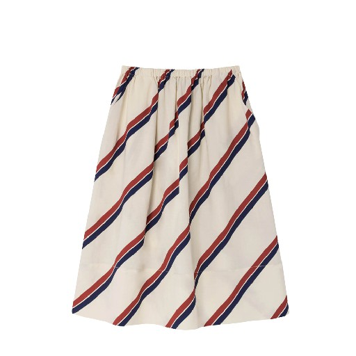 Kids shoe online The Animals Observatory skirts Striped skirt