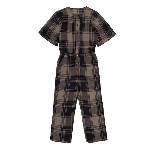 Kids shoe online The new society jumpsuits Checked jumpsuit