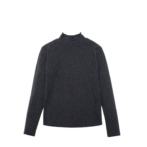 Kids shoe online The new society longsleeves Dark grey turtleneck