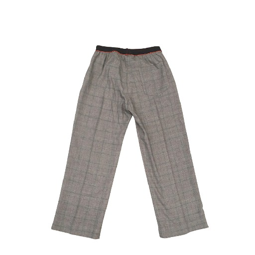 Maan trousers Grey checkered trousers