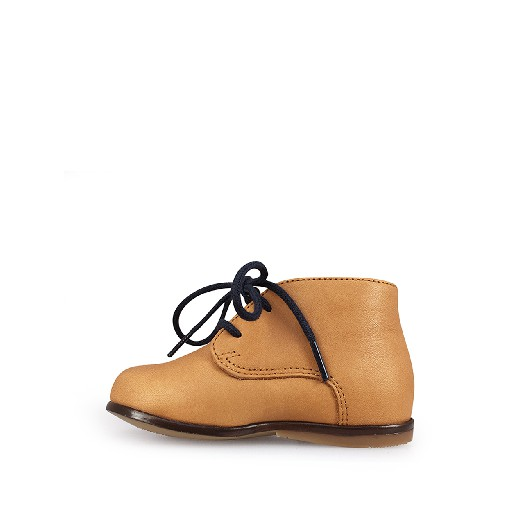 Clotaire first walker Camel brown desert boot