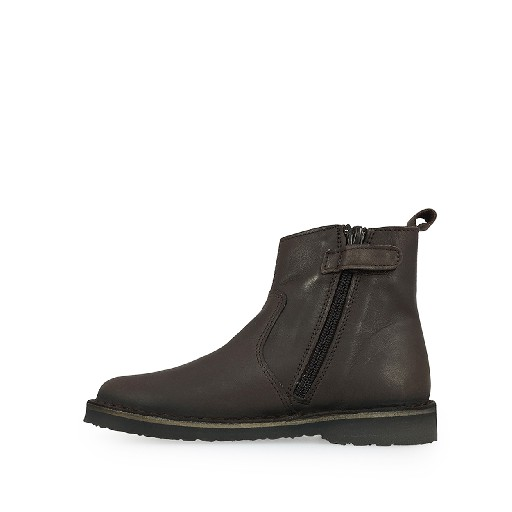 Two Con Me by Pepe short boots Short boot in dark brown with stretcher