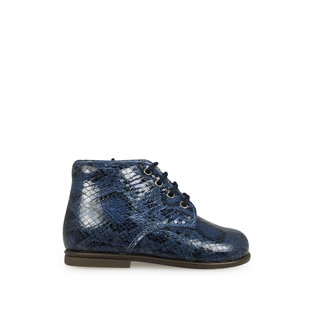 Beberlis - Fist stepper in blue snakeprint