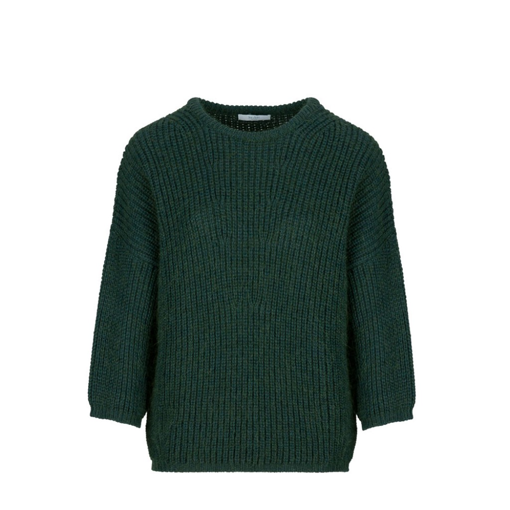 By-Bar  - Green knitted jumper