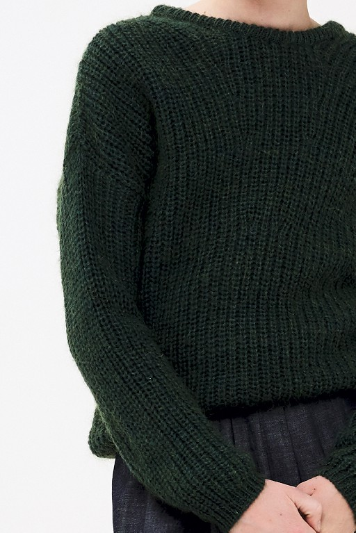 By-Bar  jersey Green knitted jumper