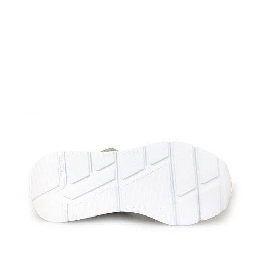 P448 trainer Half-high dad sneaker in white