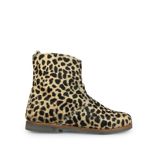 Kids shoe online JFF short boots Short boot in pony with spots