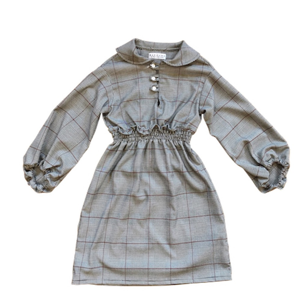 East end Highlanders - Stylish check dress