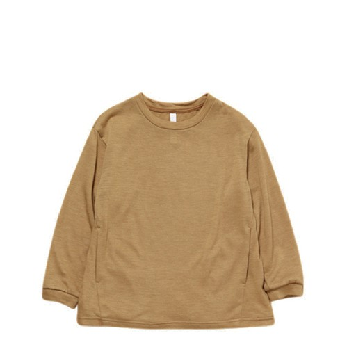 Kids shoe online MOUN TEN. jersey Wool blend pullover beige