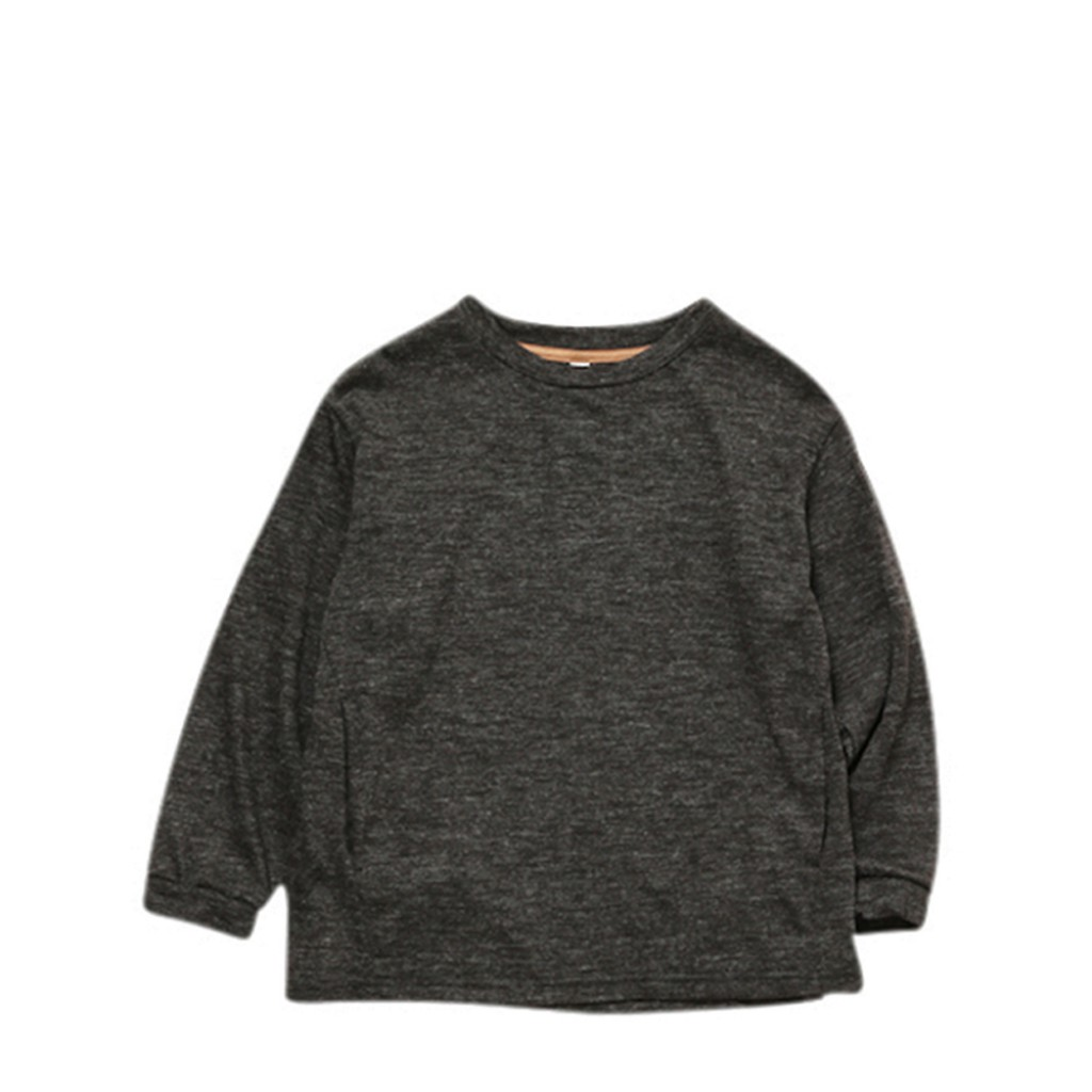 MOUN TEN. - Wool blend pullover charcoal