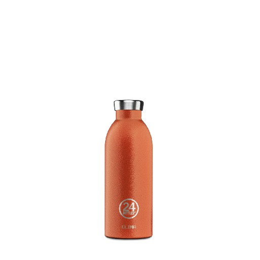 Kids shoe online 24bottles drinking bottles Thermo bottle Clima Roover Collection Sunset Orange