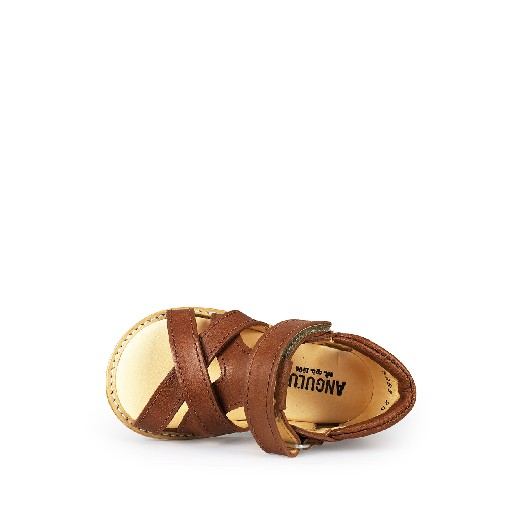 Angulus first walkers Small tan sandal