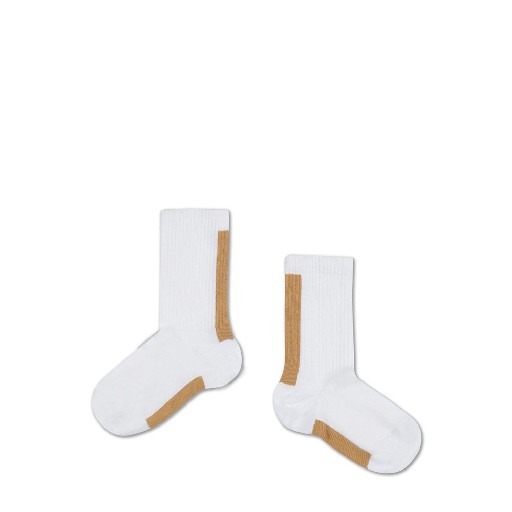 Kids shoe online Repose AMS short socks Socks golden white