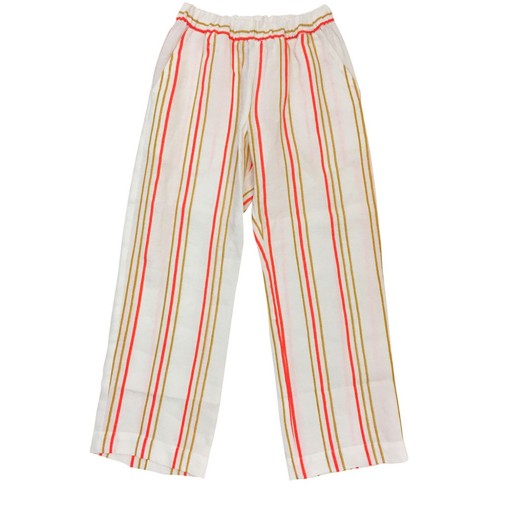 Maan trousers Striped elegant trousers