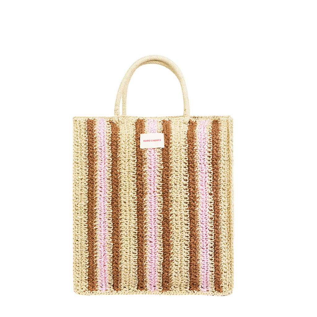 Bobo Choses - Striped tote bag