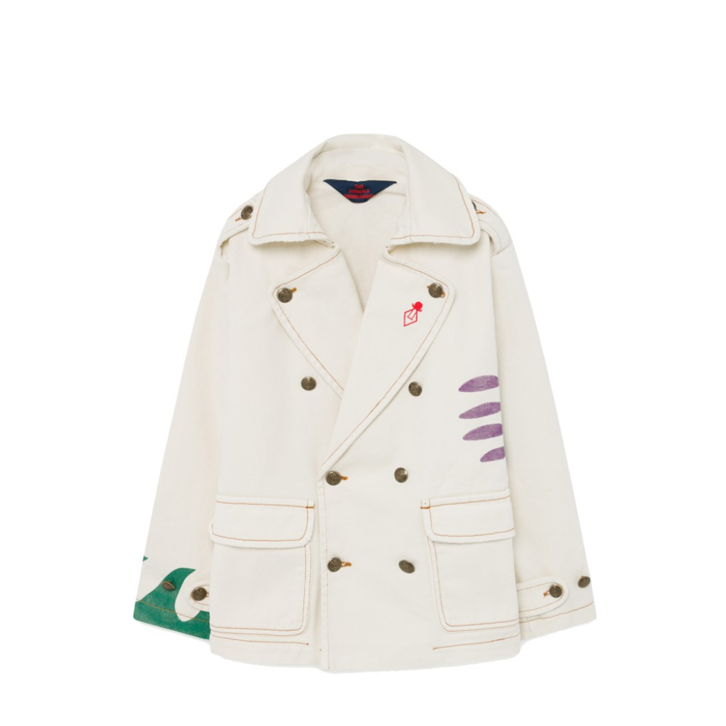 The Animals Observatory jackets White jacket with sun print