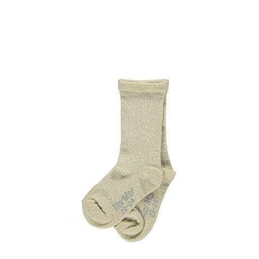 Kids shoe online MarMar Copenhagen knee socks Knee socks lurex gold