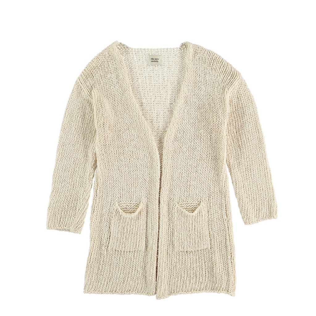 The new society - Long knitted cardigan