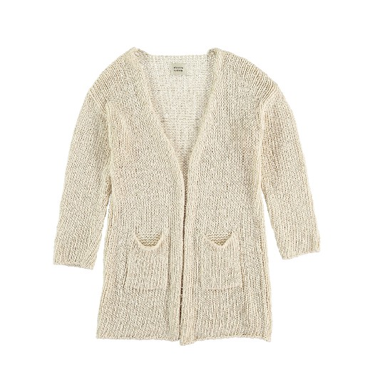 Kids shoe online The new society cardigan Long knitted cardigan