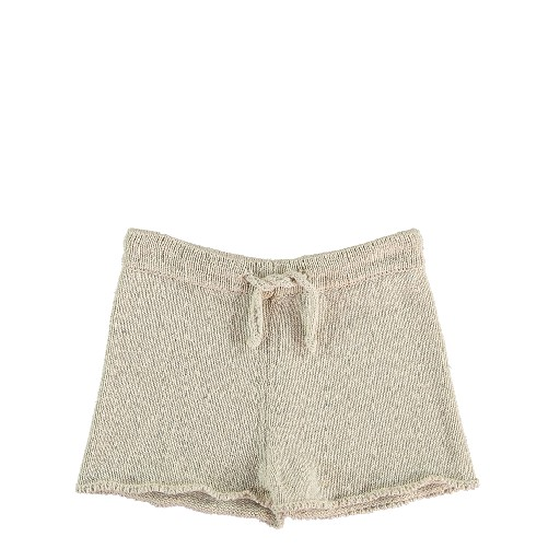Kids shoe online The new society shorts Knitted shorts beige